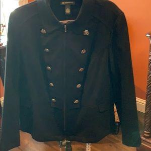 INC military jacket style size Ox